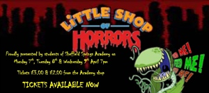 Little Shop of Horrors Production